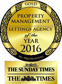 Property Management Lettings agency of the year 2016