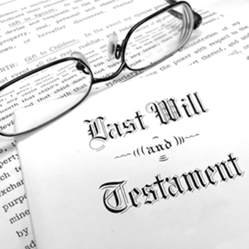 Probate Matters... disposing of inherited estates