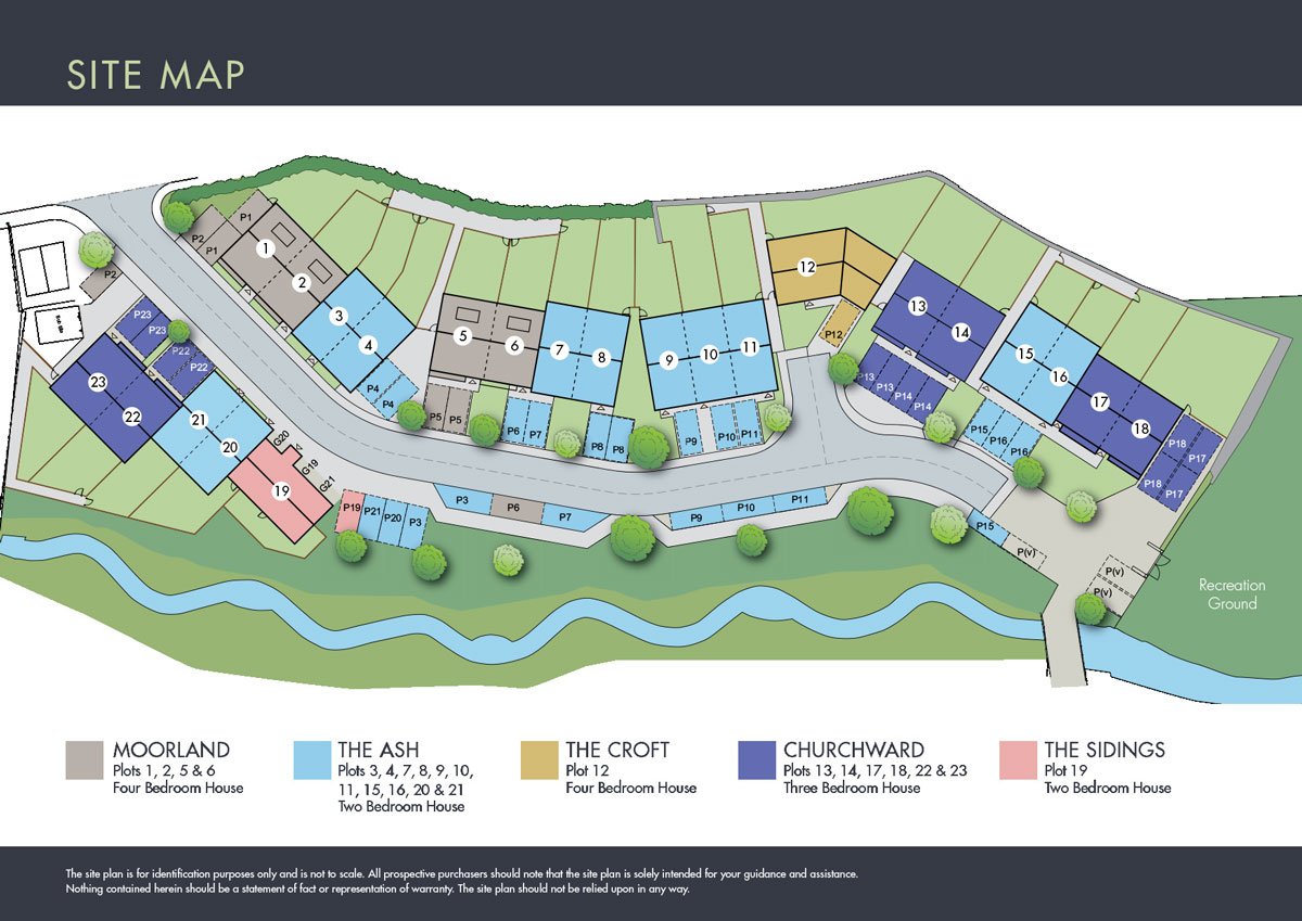 Brewery Meadow New Homes Development - Site Layout