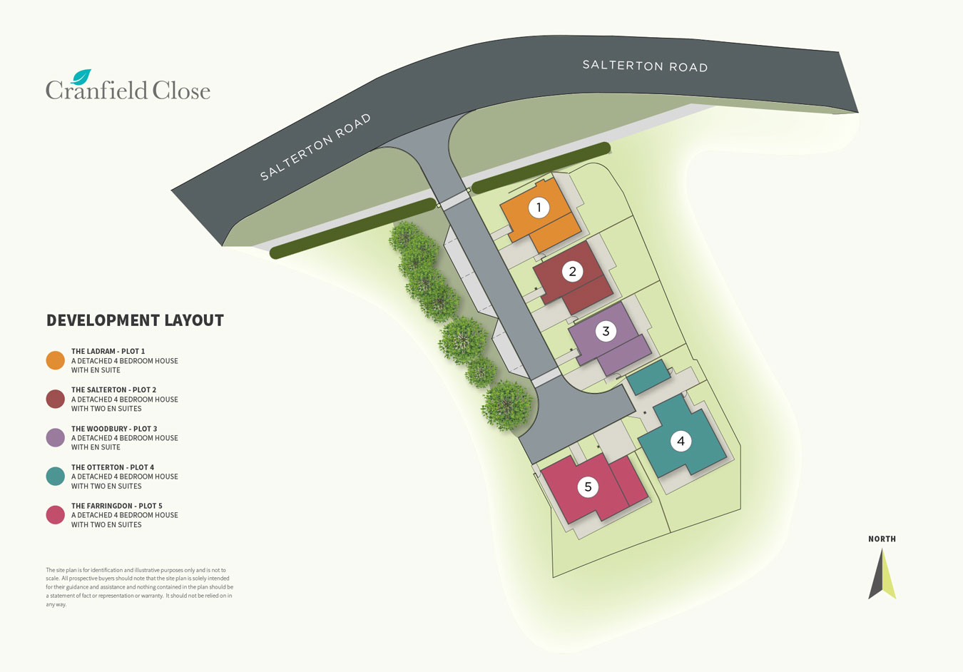 Cranfield Close New Homes Development - Site Layout