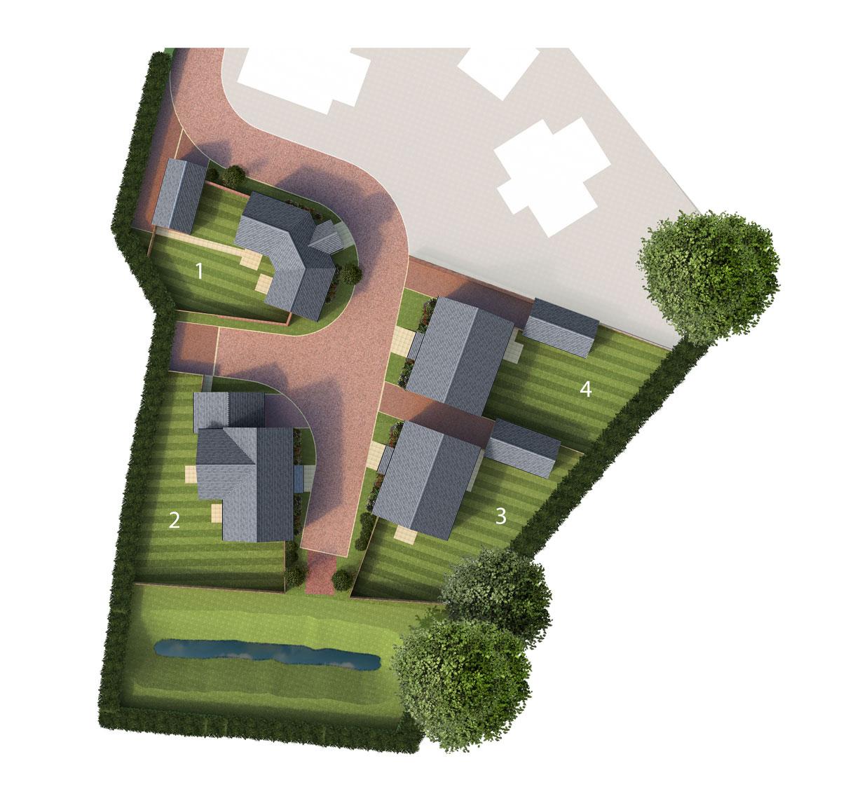 Ivydale Gardens New Homes Development - Site Layout