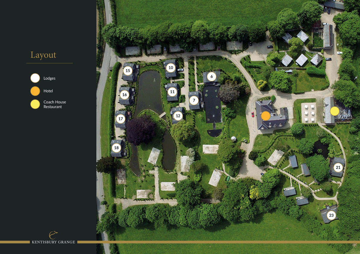 Kentisbury Grange New Homes Development - Site Layout