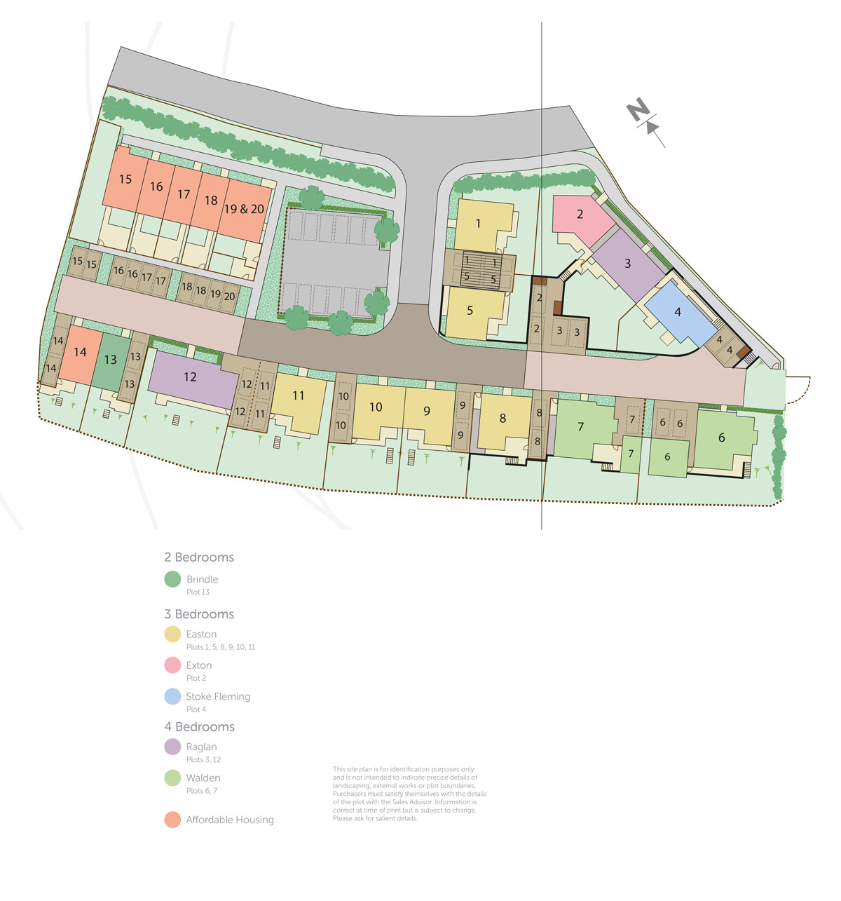 Meadow Haze New Homes Development - Site Layout