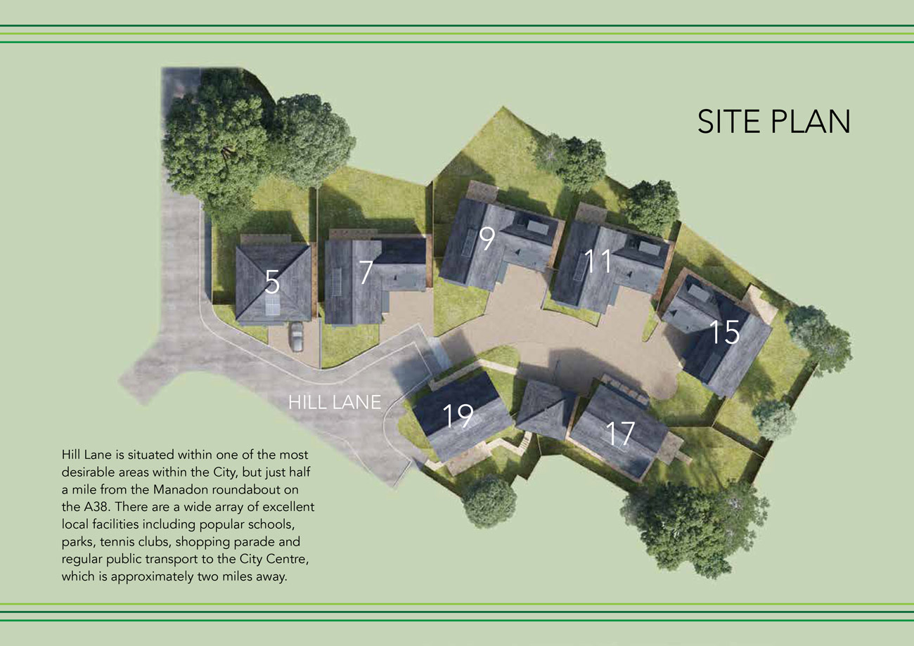 Mount Pleasant New Homes Development - Site Layout