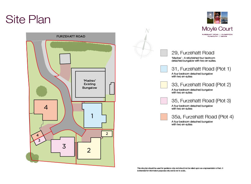 Moyle Court New Homes Development - Site Layout