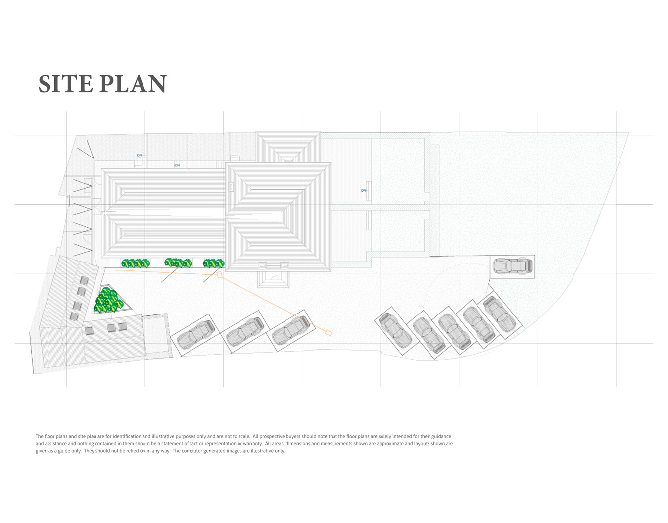 Nightingales New Homes Development - Site Layout