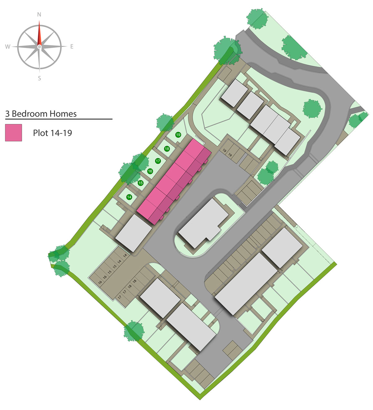 Parc an Bre  New Homes Development - Site Layout