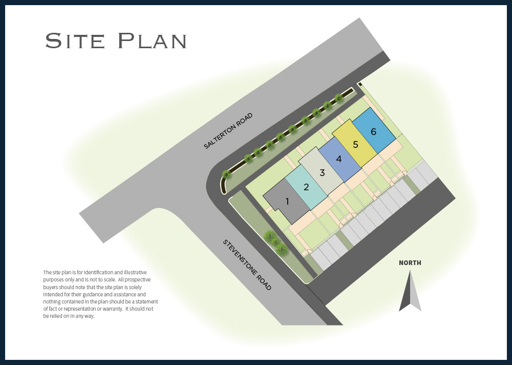 The Avenues New Homes Development - Site Layout