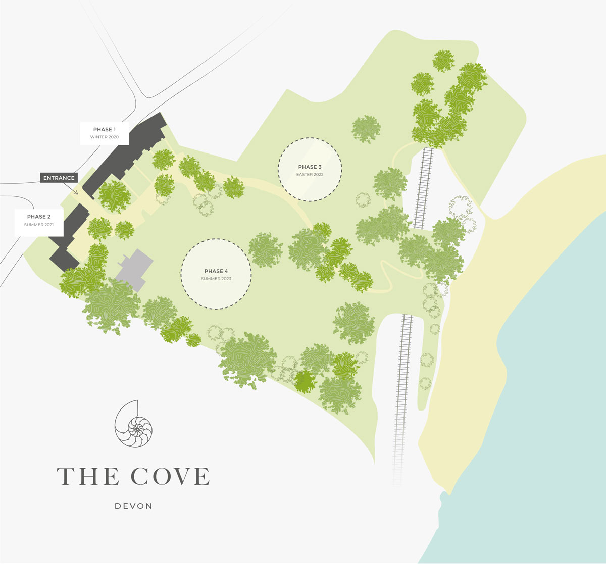 The Cove New Homes Development - Site Layout