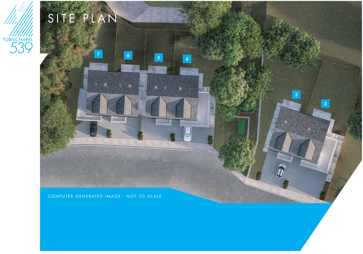Turnchapel New Homes Development - Site Layout