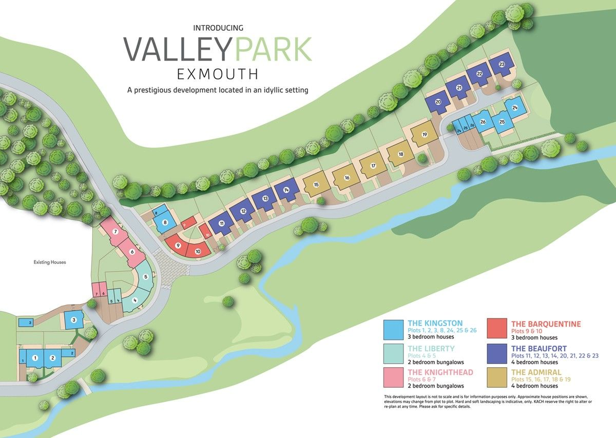 Valley Park  New Homes Development - Site Layout